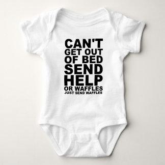 SEND WAFFLES BABY BODYSUIT