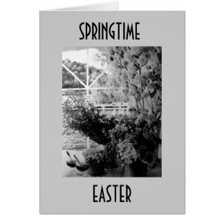 SEND WISHES FOR A HAPPY SPRING AND EASTER, TOO CARD