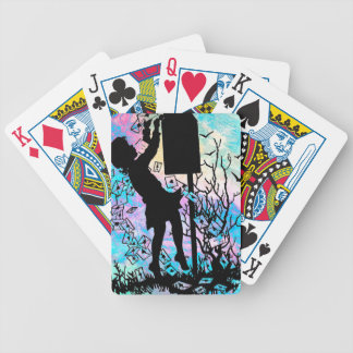 SENDING LOVE BY SNAIL MAIL! BICYCLE PLAYING CARDS