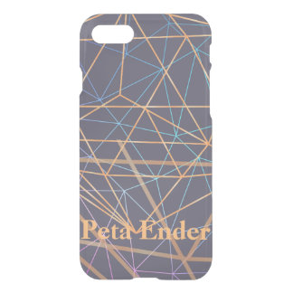 Sending Signals Dusty Violet iPhone 8/7 Case