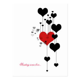 Sending some love... postcard