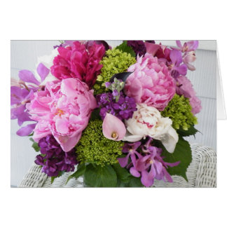 Sending you a bouquet of Happiness Card