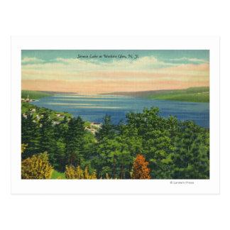 Seneca Lake View Postcard