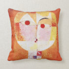 Senecio by Paul Klee Throw Pillow