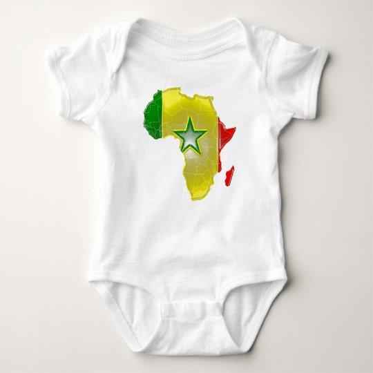 Senegal Baby Bodysuit