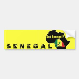 Senegal Coat of arms T-shirt And Etc Bumper Sticker