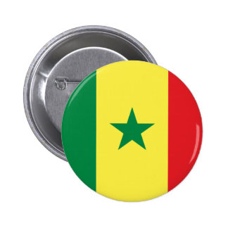 Senegal Flag 2 Inch Round Button