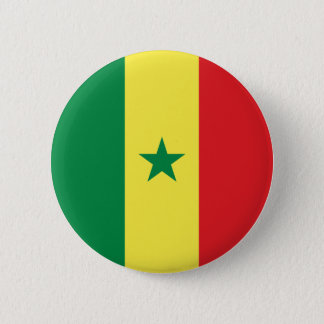 Senegal Flag 2 Inch Round Button