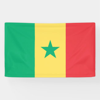 Senegal Flag Banner