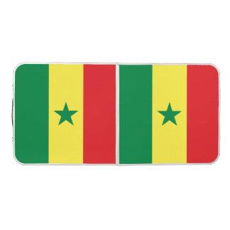 Senegal Flag Beer Pong Table