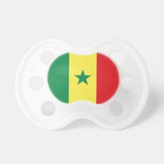 Senegal Flag Booginhead Pacifier