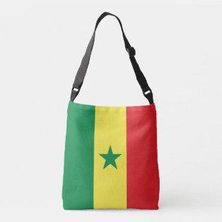 Senegal Flag Crossbody Bag