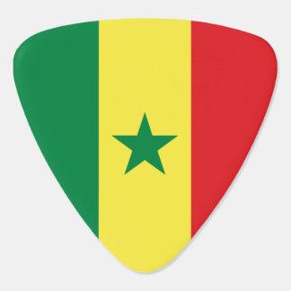 Senegal Flag Guitar Pick