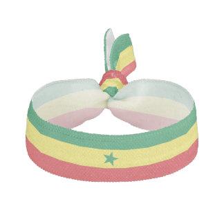 Senegal Flag Hair Tie