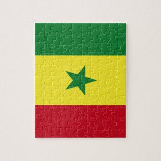 Senegal flag jigsaw puzzle