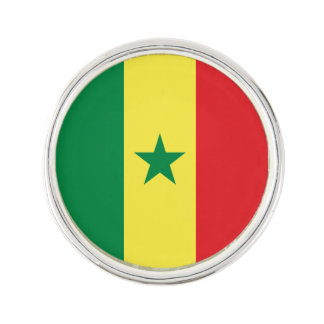 Senegal Flag Lapel Pin