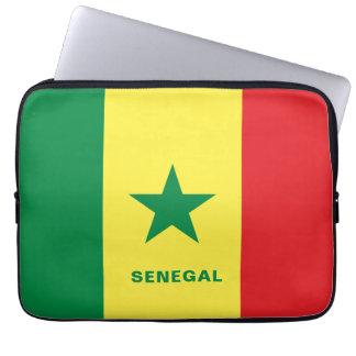 Senegal Flag Laptop Sleeve