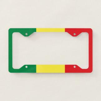 Senegal Flag License Plate Frame