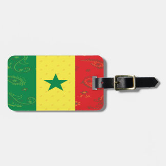 Senegal Flag Luggage Tag