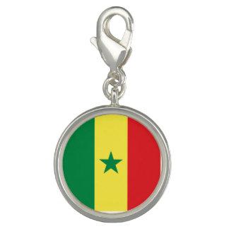 Senegal Flag Photo Charm