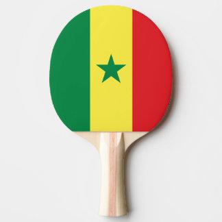 Senegal Flag Ping Pong Paddle