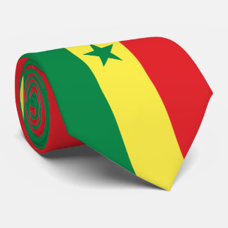 Senegal Flag Tie