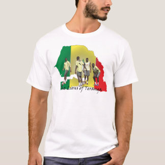 Senegal Futbol T-Shirt