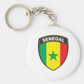 Senegal Keychain