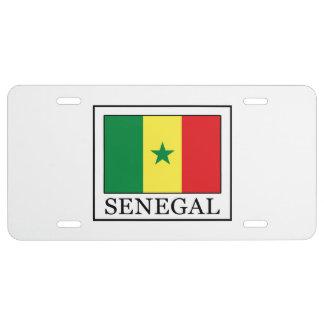 Senegal License Plate