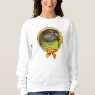 Senegal parrot realistic painting sweatshirt