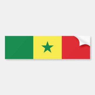 Senegal/Senegalese Flag Bumper Sticker
