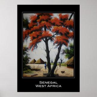 Senegalese Art Poster