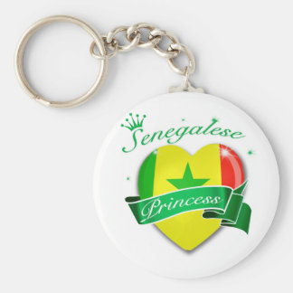 Senegalese Princess Keychain
