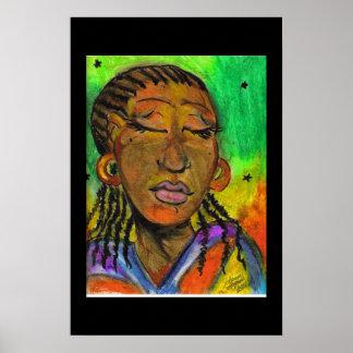 Senegalese  Woman Poster