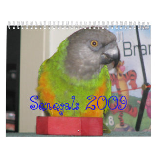 Senegals 2009 Calendar - Customized