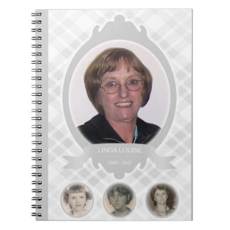 senescence photo memorial announcements notebooks