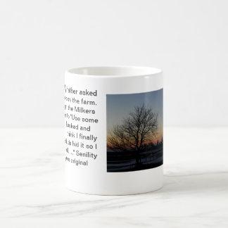 Senility Coffee Mug