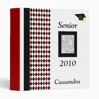 Senior 2010 Personalized Photo Album Vinyl Binders