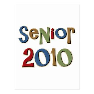 Senior 2010 postcard