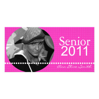 Senior 2011 Personalized Announcement Photocard Personalized Photo Card