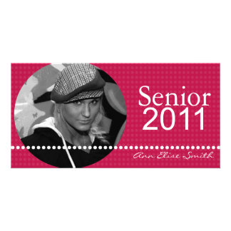 Senior 2011 Personalized Announcement Photocard Photo Cards