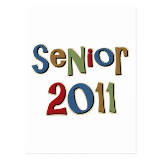 Senior 2011 post card