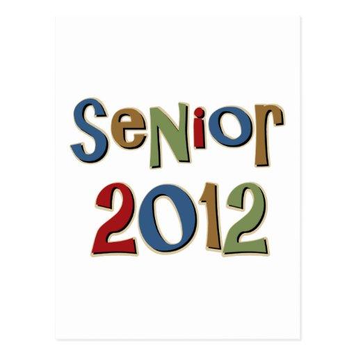 Senior 2012 post card