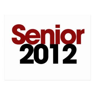 Senior 2012 postcard