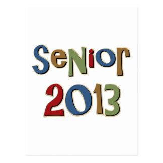 Senior 2013 postcards