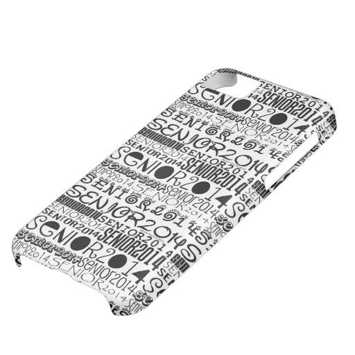 Senior 2014 iPhone 5 Tough Extreme Case iPhone 5C Cover
