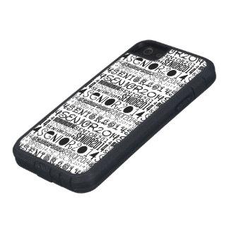 Senior 2014 iPhone 5 Tough Extreme Case iPhone 5 Covers