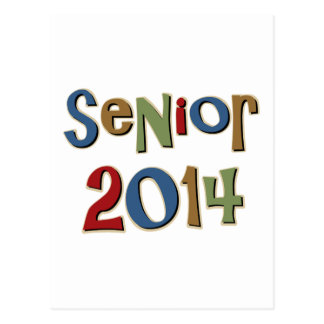 Senior 2014 postcard