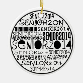 Senior 2014 - Rearview Mirror Ornament