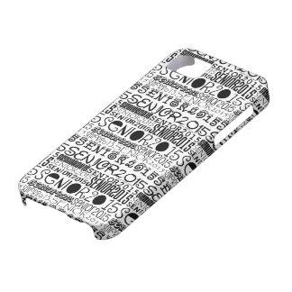 Senior 2015 iPhone 5/5S Tough Extreme Case iPhone 5 Case